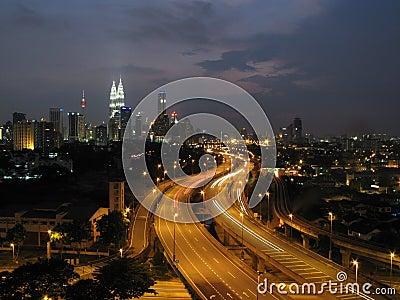 Kuala Lumpur and the twin towers