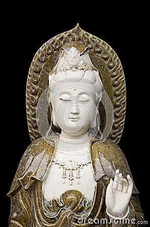 Free Kuan Yin Statue Royalty Free Stock Image - 10853276