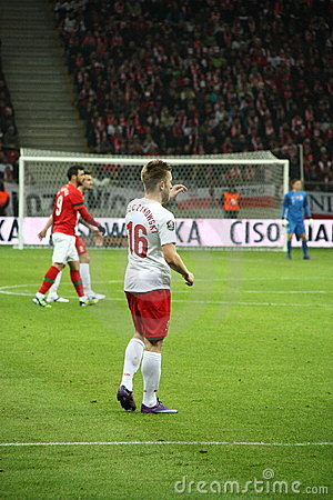 Kuba Blaszczykowski (Borussia Dortmund) Editorial Stock Photo