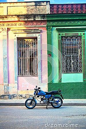 Kuba Matanzas stad Redaktionell Foto