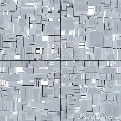 Kubieke abstracte achtergrond