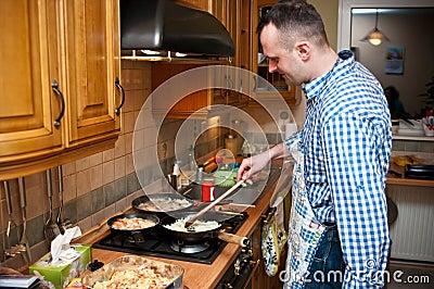 Kuchenny mężczyzna