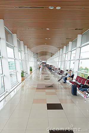 Kuching International Airport Interior Editorial Stock