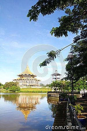 Kuching Riverside, Sarawak