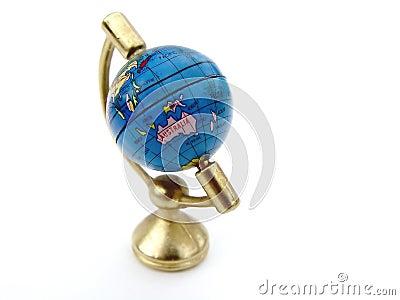 Kugel der Welt