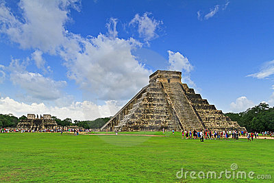 Kukulkan pyramid, one of 7 New Wonders