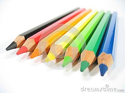 Kulöra crayons vi