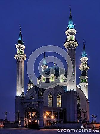 The Kul Sharif mosque of Kazan