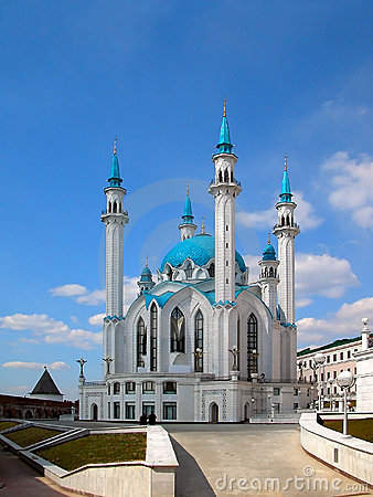 The Kul Sharif mosque of Kazan city in Russia