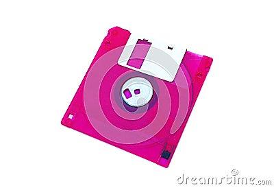 Kulör diskfloppy