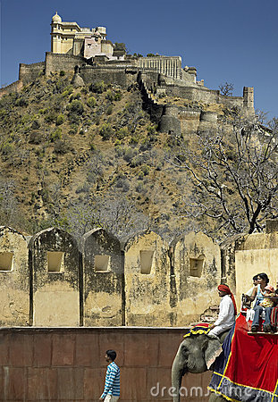 Kumbhalgarth Fort - Rajasthan - India Editorial Image
