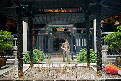 Kun Iam temple, macau. Editorial Photo