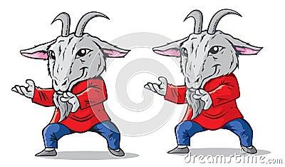 Kung Fu Goat