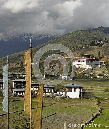 Kungarike av Bhutan - Paro Dzong