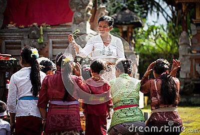 Kuningan Festival in Bali Editorial Image