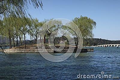 Kunming lake of summer palace
