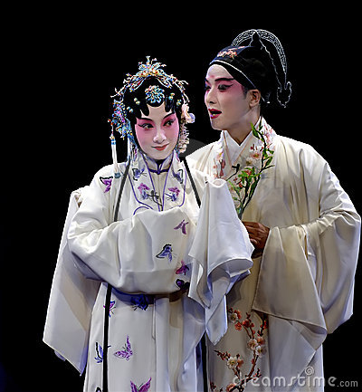 Kunqu Opera-The Peony Pavilion  Stock Photos - Image: 14079023