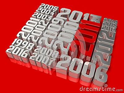 Kunst 2011 der Geschichte 3d