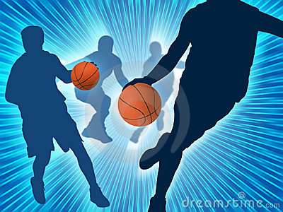 Kunst 3 van het basketbal