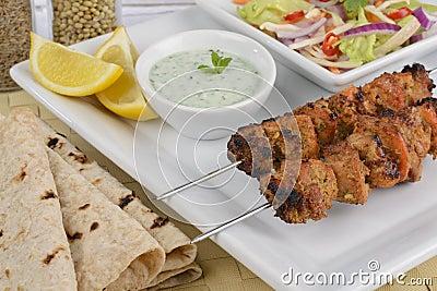 Kurczaka kebab tikka