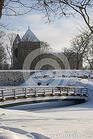 Kuressaare Castle Park in Saaremaa