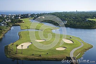 Kurs golfa przybrzeżne