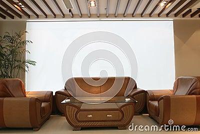 Kurtyna projekt white lounge wewnętrznego