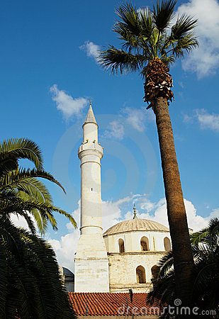 Free Kusadasi Mosque Royalty Free Stock Photography - 12028407