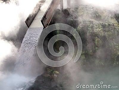 Kusatsu hot-spring, Japan