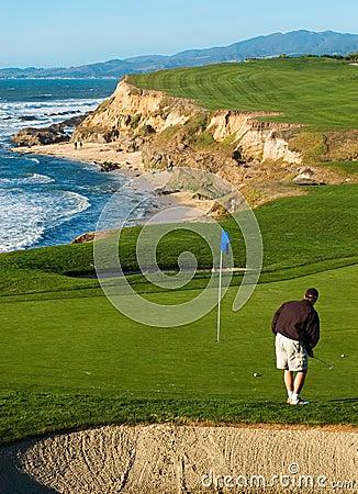 Kust golfcursus