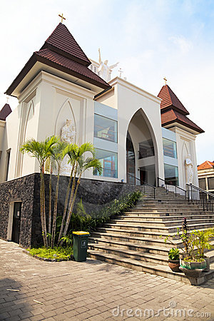 Kuta Catholic Church, Bali, Indonesia