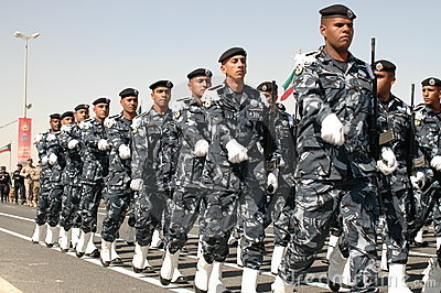 Kuwait Army Show Editorial Photo