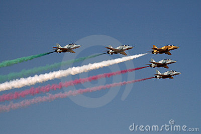 Kuwait flage by airforce