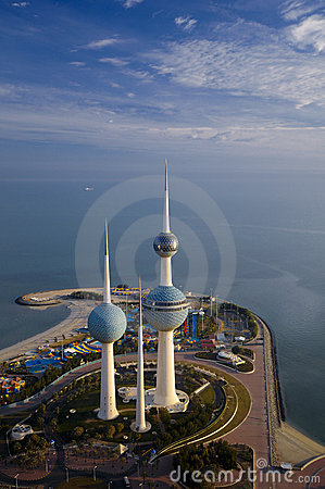 Free Kuwait From The Sky Stock Photos - 10506173