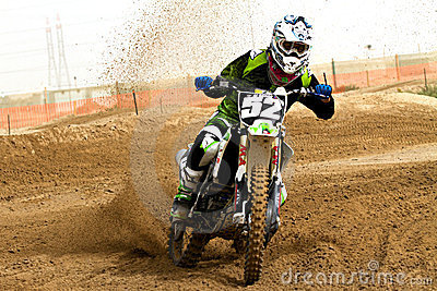 Kuwait motorcross Editorial Stock Photo