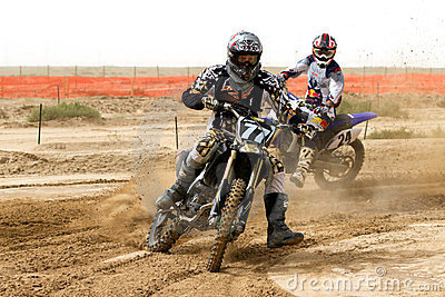 Kuwait motorcross race Editorial Stock Photo