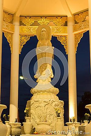 Kwan-in statue