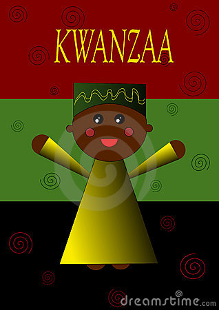 Kwanzaa Child Illustration