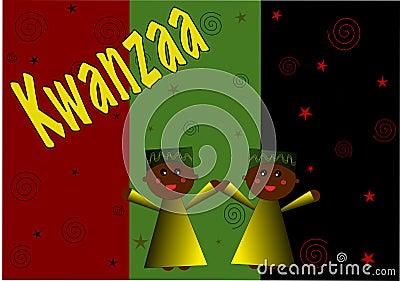 Kwanzaa Child Illustration