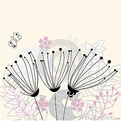 Kwiaty trzy