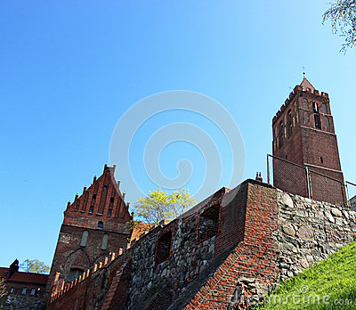 Kwidzyn cathedral. Medieval castle. Poland