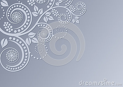 Kwiecista tło dekoracja