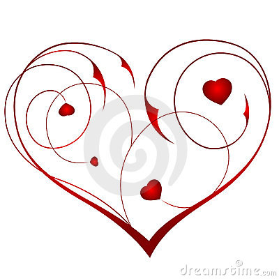 Kwiecisty serce