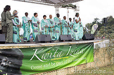 Kwita Izina ceremony Editorial Stock Photo