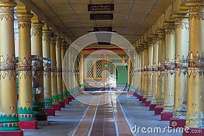 Kyaly Khat Wai Monastery  ,  Bago in Myanmar (Burmar)
