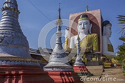 Kyeik Pun Pagoda - Bago - Myanmar (Burma)