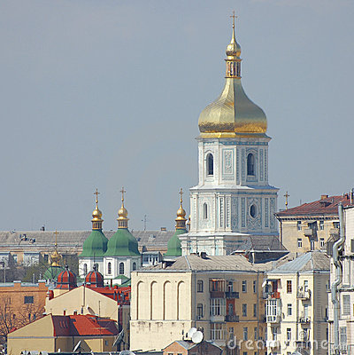 Kyiv capital of Ukraine. Sophia Cathedral
