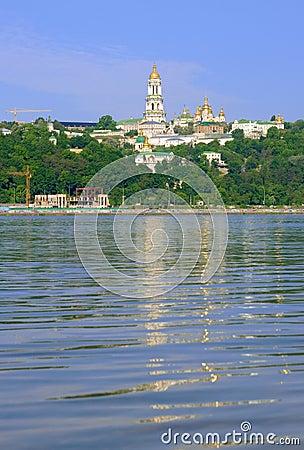 Kyiv Pechers k Lavra under river Dnipro
