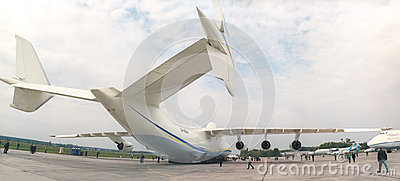 KYIV, UKRAINE-SEPTEMBER 28: Antonov 225  Editorial Image