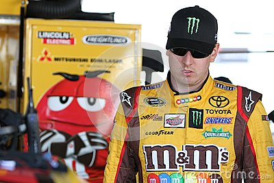 Kyle Busch at track Editorial Photography